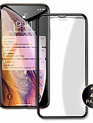 """cheap -iconflang compatible screen protector for iphone xs max 6.5"""" 3d curved surface tempered glass film [2 pack] 3d touch full screen coverage (clear)"""