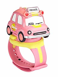 cheap -car toys die cast vehicles&digital watch 2 in 1,wrist pals toy touch change music & colorful lights kids educational toys for 3 4 5 6 7 year old boys girls(pink)