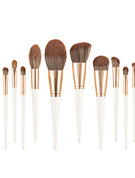 cheap -Professional Makeup Brushes 14pcs Soft Full Coverage Lovely Comfy Wooden / Bamboo for Makeup Tools Blush Brush Foundation Brush Makeup Brush Lip Brush Lash Brush Eyebrow Brush Eyeshadow Brush
