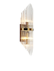 cheap -Crystal Modern Nordic Style Wall Lamps Wall Sconces Living Room Bedroom Crystal Wall Light 110-120V 220-240V
