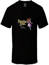 cheap -phantasy star retro video game t shirt s black