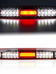 cheap -led 3rd brake light high mount stop light for 99-06 chevrolet silverado/gmc sierra 1500-3500, 01-06 chevrolet silverado/gmc sierra 1500-3500 hd chrome housing smoke lens