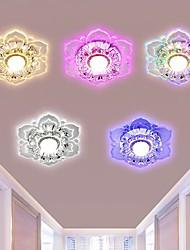cheap -20cm LED Ceiling Light Porch Light Aisle Corridor Modern Flower Desgin Flush Mount Lights Metal Electroplated 110-240 V