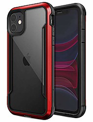 cheap -raptic shield, compatible with apple iphone 11 (formerly defense shield) - military grade drop tested, anodized aluminum, tpu, and polycarbonate protective case, apple iphone 11, red