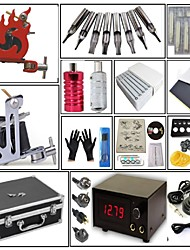 cheap -Professional Tattoo Kit Tattoo Machine - 2 pcs Tattoo Machines, High Speed / Professional Level / Voltage Adjustable Carbon Steel 2 steel machine liner & shader / Coil Tattoo Machine / Handmade