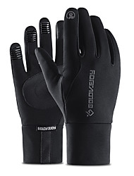 cheap -Winter Gloves Running Gloves Full Finger Gloves Anti-Slip Touch Screen Thermal Warm Outdoor Cold Weather Women's Men's Skiing Hiking Running Driving Cycling Winter / Lightweight