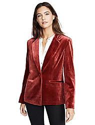 cheap -women's trail blazer jacket, brick, red, large