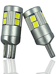 cheap -OTOLAMPARA 2PCS Super Bright Car Bulb 147 152 158 159 161 168 Energy Saving CAN-bus LED T10 Special for Toyota Prius C Venza Avalon/ Volkswagen Passat Beetle GTI 184 194 192 193 259 LED Bulb White