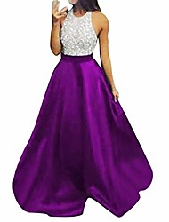 cheap -crystals beaded lace mermaid evening dress for women formal