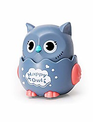 cheap -children owl pull back car, kids toy car, creative gift for children over 3 years old, gray