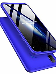 cheap -for samsung galaxy a10 case ultra slim 2 in 1 shockproof 360°full body front back hard pc plastic anti-scratch cover compatible with samsung galaxy a10,2in1 pc - blue