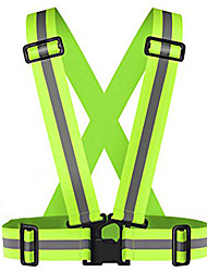 cheap -Reflective Vest Safety Vest Running Gear Durable Class 2 High Visibility Portable High Visibility Versatile Adjustable Strap for Running Jogging Dog Walking Motorcycling