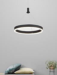 cheap -1-Light 30/40/60 cm Multi-shade / Adjustable Chandelier Aluminum Acrylic Circle Anodized LED / Modern 110-120V / 220-240V