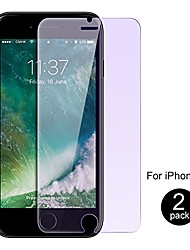 cheap -iphone 8 / iphone 7/iphone se 2nd generation screen protector by , anti blue light [eye protect] 2 pack 9h hardness 3d touch shockproof anti-scratch, tempered glass for iphone 7/8