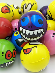 cheap -12 pcs silly stress ball, 2.5inch party favor balls,finger exercise stress relief toys,6 colors