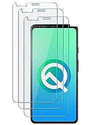 cheap -compatible [3 - pack] google pixel 4 xl tempered glass screen protector,[9h hardness][anti-scratch] [anti-fingerprint][3d curved] screen protector for google pixel 4 xl (clear)