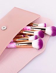 cheap -15 Pcs Marble Makeup Brush Powder Brush Eye Shadow Brush Beginner Beauty Dressing Tool Combination