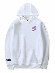 cheap -sway house hoodies sweatshirts men women print bryce hall and jaden hossler pullover unisex tracksuit (large,white)