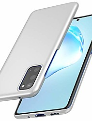 cheap -compatible for samsung galaxy s20 case [ultra-thin] [anti-drop] new premium material slim full protection cover for samsung s20 5g (6.2 inch)- silver