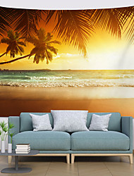 cheap -Wall Tapestry Art Decor Blanket Curtain Picnic Tablecloth Hanging Home Bedroom Living Room Dorm Decoration Polyester Hawaii Beach
