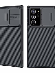 cheap -samsung galaxy note 20 ultra slide cover camera lens protective case both sides non-slip design anti-scratch full body protection (for galaxy note 20 ultra)