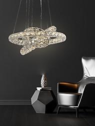 cheap -3 Rings Led Crystal Chandelier Hanging Lighting Colgante Lamp Lustre Pendant Lamparas Modern Ceiling Chandelier Pendant Lights Fixtures Abajur Luminaire 110-120V 220-240V