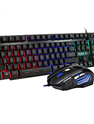 cheap -AN -300 Gaming keyboard and Mouse Wired Keyboard with Backlight Keyboard