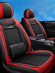 cheap -1PCS Breathable Mesh Car Seat Cool Car Seat In Four Seasons High Quality Luxury Car Interior Suitable For Most Car Seats