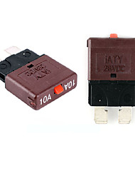 cheap -Plug In Fuse Automobile Fuse Reset Fuse Circuit Breaker 10A