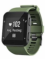cheap -Replacement garmin forerunner 35 strap bands,silicone watch band compatible for garmin forerunner 35. (armygreen)
