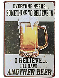 "cheap -vintage metal signs no stupid people beyond this point tin sign for bar accessories man cave 12""x 8"""