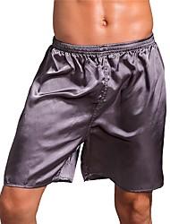 cheap -men's 100% silk dress boxers (board room, quartz, l) valentines gift