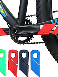 cheap -Crank For Road Bike / Mountain Bike MTB / Recreational Cycling Carbon Fiber Durable Cycling Bicycle Black Red Blue