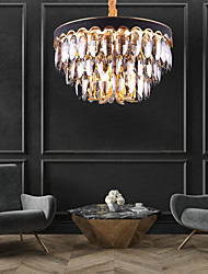 cheap -6-Light 60 cm Chandelier Crystal Painted Finishes Traditional / Classic 110-120V / 220-240V