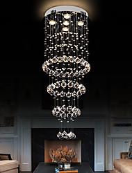cheap -40cm Crystal Chandelier Luxury Ceiling Light DIY Modernity Globe K9 Crystal Pendant Lighting Hotel Bedroom Dining Room Store Restaurant LED Pendant Lamp Indoor Crystal Chandeliers Lighting