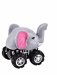 cheap -pull back car toy, simulate panda leopard animal pull back car development kids toy collectible birthday gift elephant