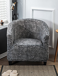cheap -Gray Club Chair Slipcover Stretch Armchair CoverSofa Cover Furniture Protector for Living Room Arm Chair Cover Couch Covers
