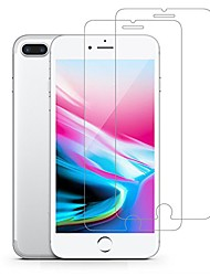cheap -tempered glass screen protector for apple iphone 8 plus, iphone 7 plus, case friendly anti scratch bubble free tempered glass film - 2 pack