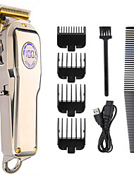 cheap -Hair Clippers For Men Professional Hair Clipper, Cordless Beard Trimmer, Electric Clipper, USB Charging Hair Trimmer   Hair Cutting Machine