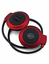 cheap -mp3 player bluetooth headphone, wireless mp3 player with fm radio, stereo earphone tf card mp3 max to 32gb premium quality (color : red)