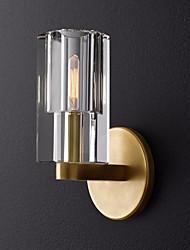 cheap -Crystal LED Nordic Style Flush Mount Wall Lights Living Room Shops Cafes Copper Wall Light 110-120V 220-240V
