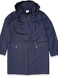 cheap -women's packable rain jacket, indigo, 2x