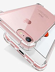 cheap -case compatible with iphone se (2020) and iphone 8/7,[scratch-resistant] with 4 corners shockproof protection soft tpu cover for iphone se 2020, iphone 8 and iphone 7, 4.7-inch (clear)