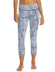 cheap -womens reversible speckle print speed capri leggings (xxs)