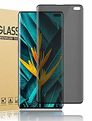 """cheap -for galaxy s10+/s10 plus 5g privacy screen protector, tempered glass [anti-spy] [9h hardness] [3d curved] [easy installation] [darken screen] hd protective film for samsung galaxy s10+ (6.4"""")"""