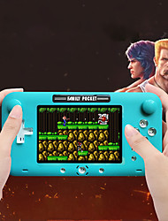 cheap -208 Games in 1 Handheld Game Player Game Console Rechargeable Mini Handheld Pocket Portable Support TV Output Classic Theme Retro Video Games with 4 inch Screen Kid's Adults' Men and Women 1 pcs Toy