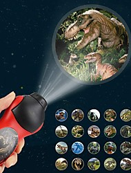 cheap -Flashlights Projector Lights Dinosaur LED Lighting Strange Toys Batteries Powered Button Battery Child's for Birthday Gifts and Party Favors  1 pcs Daily Wear