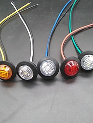 cheap -SENCART 10pcs Motorcycle / Car Light Bulbs  Marker Lights 3LED Parking Lights Marker LED 12v Side Marker Trailer Lights in  For Truck LED Turn Signal Lights / Side Marker Lights / Decoration Ligh
