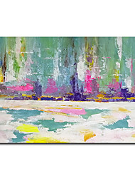 cheap -Mintura Large Size Hand Painted Abstract Oil Painting on Canvas Modern Wall Art Pictures For Home Decoration No Framed