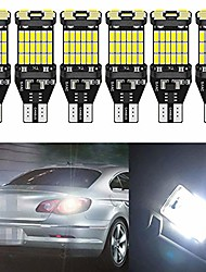 cheap -pack of 6 - extremely bright 1220lums non-polarity canbus error free 921 912 w16w t15 ak-4014 45pcs chipsets led bulbs for backup reverse lights, interior light bulb xenon white 6000k